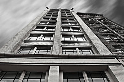 Photograph - Jackson Building Asheville North Carolina by Gray  Artus