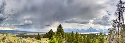 Jackson Hole Wall Art - Photograph - Jackson Hole Thunderstorms by Dustin K Ryan
