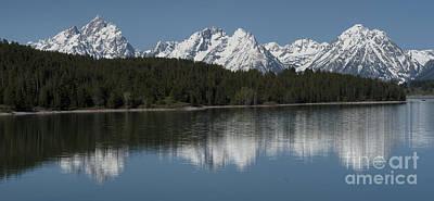 Photograph - Jackson Lake by Sandra Bronstein