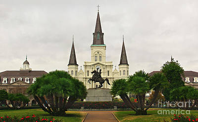 Jackson Square Art Print by Perry Webster