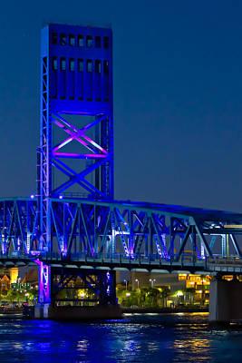 Photograph - Jacksonville Skyline by Debra and Dave Vanderlaan