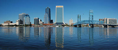 Photograph - Jacksonville Skyline by Ronald Broome