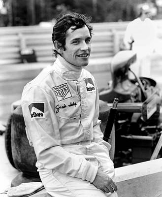 Jacky Ickx Art Print by Mike Flynn
