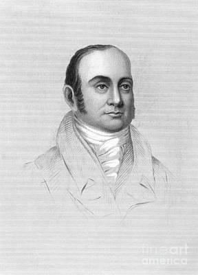 Jacob Perkins (1766-1849) Art Print by Granger