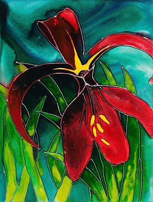 Painting - Jacobean Lily by Carol McLagan