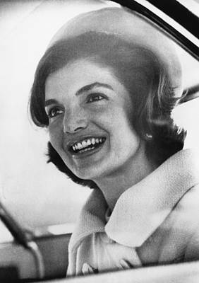 Jacqueline Kennedy, Arriving In New Art Print by Everett