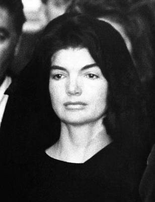 President And First Lady Photograph - Jacqueline Kennedy At The Lying by Everett