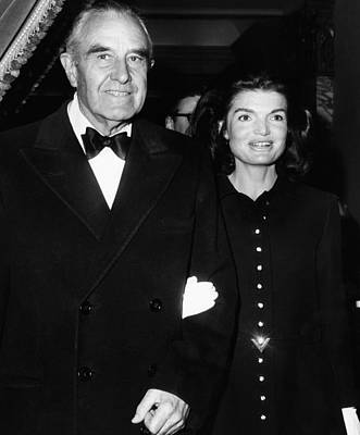 Jacqueline Kennedy In Her First Public Art Print by Everett