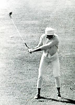 Jacqueline Kennedy, Playing Golf Art Print