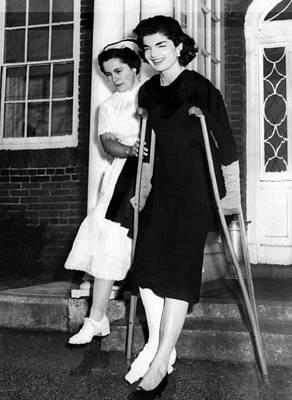 1950s Fashion Photograph - Jacqueline Kennedy, Wife Of Senator by Everett