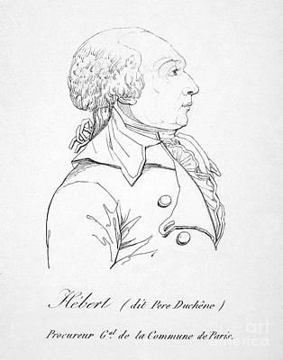 Jacques H�bert (1755-1794) Art Print by Granger