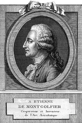 Jacques-�tienne Montgolfier, French Print by Photo Researchers