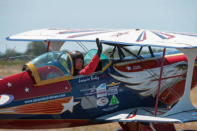 Photograph - Jacquie B Airshows by Gary Rose