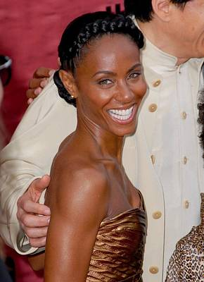 Jada Pinkett Smith At Arrivals For The Art Print by Everett