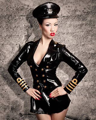 Jade Vixen Military 1143 Art Print by Gary Heller