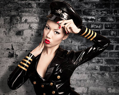Photograph - Jade Vixen Military 1145 by Gary Heller