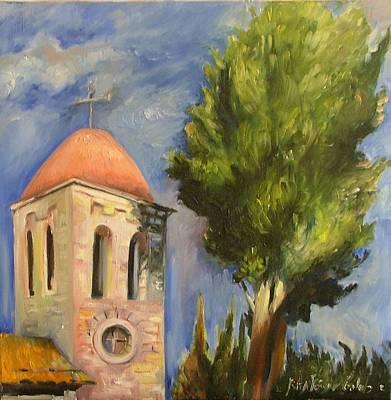 Painting - Tel Aviv Jaffa by Rita Fetisov