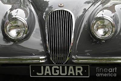 Antique Automobiles Photograph - Jaguar by Dennis Hedberg