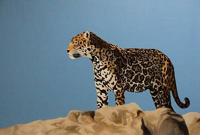 Painting - Jaguar Domain by Angelo Thomas