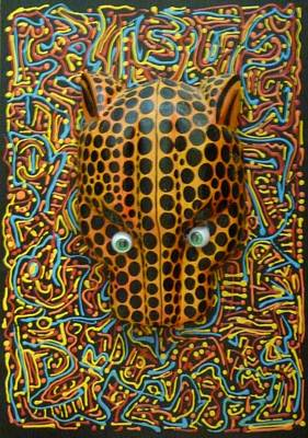 Jaguarhead Art Print