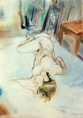 Painting - Jaime Woodstock by Scott Cumming