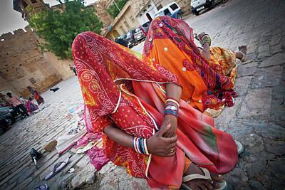 Ashram Wall Art - Photograph - Jaisalmer Rajasthan by John Battaglino