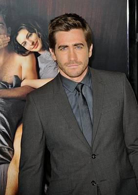 Gray Suit Photograph - Jake Gyllenhaal At Arrivals For Afi by Everett