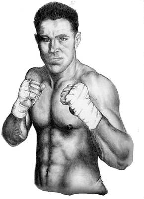 Ufc Drawing - Jake Shields by Audrey Snead