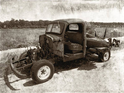 Photograph - Jalopy by Julie Niemela