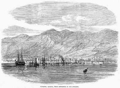 Jamaica: Kingston, 1865 Art Print by Granger