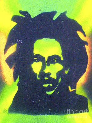 First Amendment Painting - Jamaica X Jamaica  by Tony B Conscious