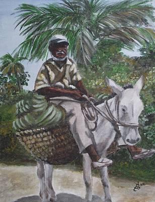Jamaican Donkey Power Art Print by Kim Selig