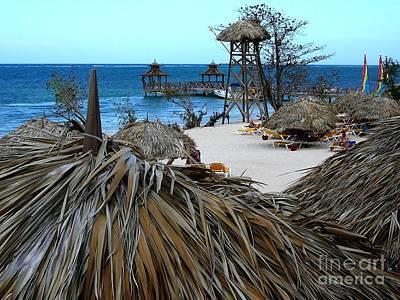 Jamaican Paradise Art Print by Anne Gordon