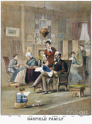 James A. Garfield: Family Art Print