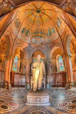 Photograph - James A. Garfield Monument I by Clarence Holmes