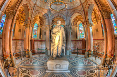 Photograph - James A. Garfield Monument II by Clarence Holmes