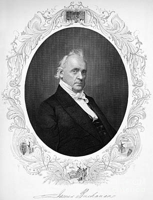 James Buchanan (1791-1968) Art Print by Granger
