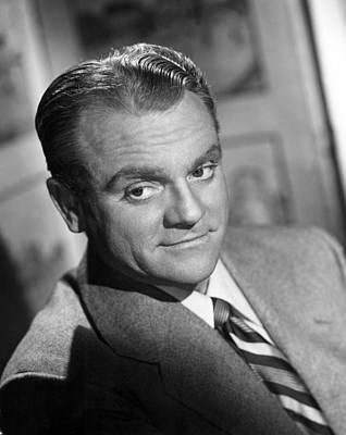 James Cagney, Portrait, 1940s Art Print by Everett
