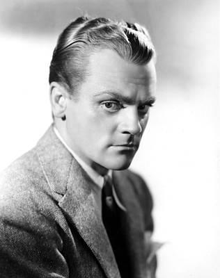 James Cagney, Portrait Art Print by Everett