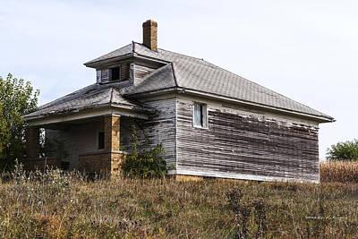 Photograph - James Center Township School by Edward Peterson