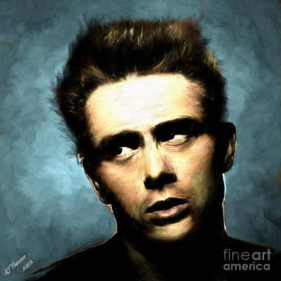 James Dean Art Print by Arne Hansen