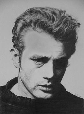 James Dean Print by Mike OConnell