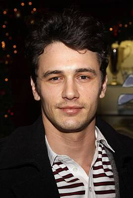 St. Jude Photograph - James Franco At Arrivals For Brooks by Everett