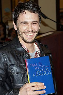 James Franco At In-store Appearance Art Print by Everett