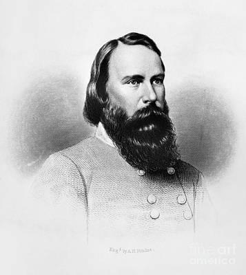 James Longstreet (1821-1904) Art Print