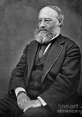 James Prescott Joule, English Physicist Print by Science Source