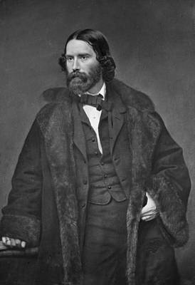 James Russell Lowell 1819-1891 Art Print