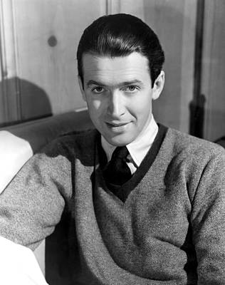 Colbw Photograph - James Stewart, 31741 by Everett