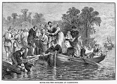 Jamestown: Women Art Print by Granger