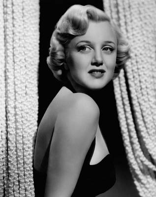 Jan Sterling Photograph - Jan Sterling, 1940s by Everett